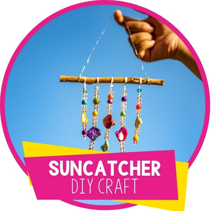 Easy DIY Suncatcher Craft for Kids Featured Image