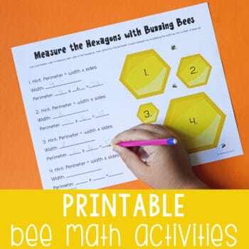 Printable Bee Math Activities