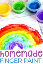 Easy Homemade Finger Paint