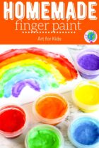 How To Make Homemade Finger Paint