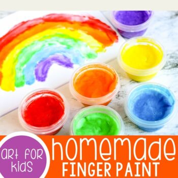 Homemade Finger Paint Recipe.