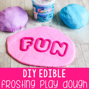 Edible play dough recipe.