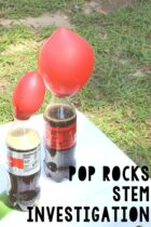 Pop Rocks STEM activity.