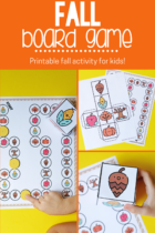 Printable fall game for kids.