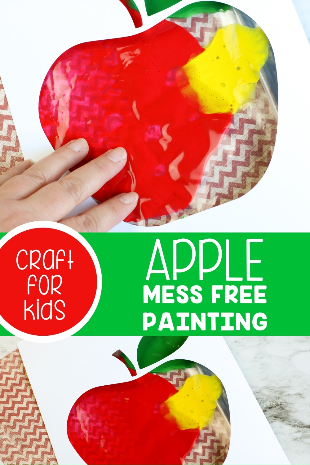 Apple Mess Free Painting