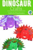 Dinosaur Crafts for Preschoolers