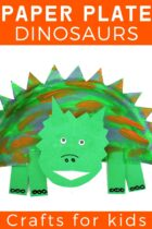 Paper Plate Dinosaurs Craft for Kids