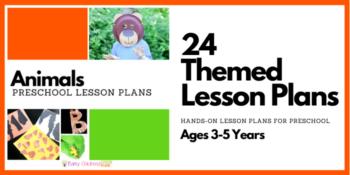 Animal Preschool Lesson Plans