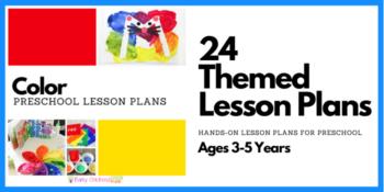 Color Preschool Lesson Plans