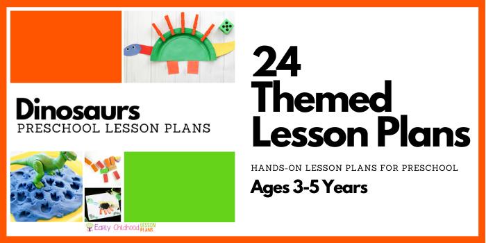 Dinosaurs Preschool Lesson Plans