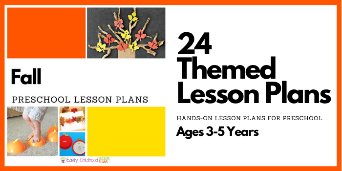 Fall Preschool Lesson Plans