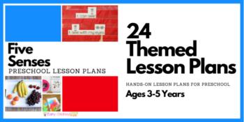 Five Senses Preschool Lesson Plans
