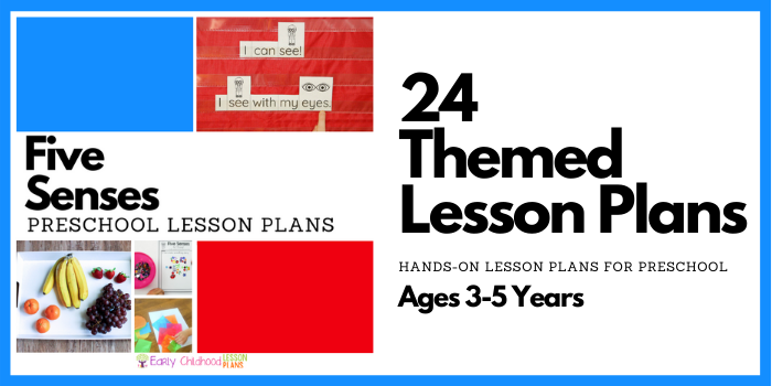 Five Senses Preschool Lesson Plans
