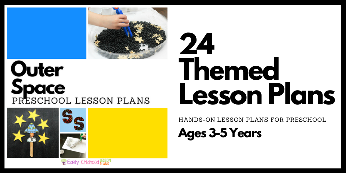 Space Preschool Lesson Plans