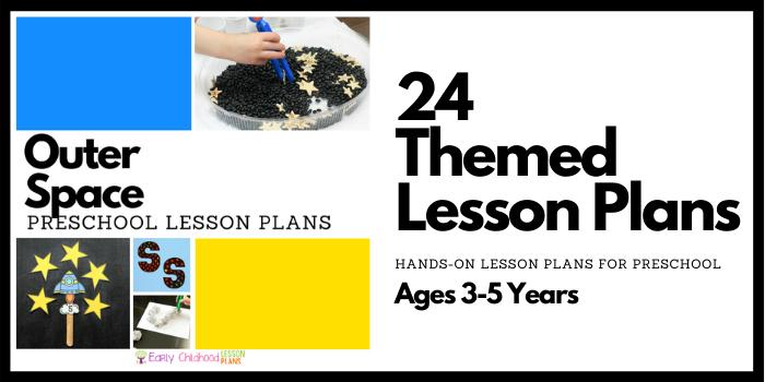 Preschool Lesson Plans Banner Space banner image
