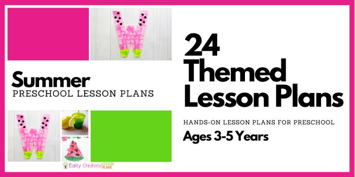 Summer Preschool Lesson Plans