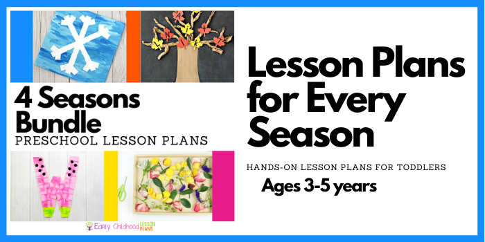 Four Seasons Preschool Lesson Plans