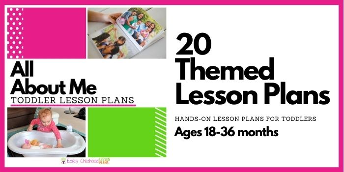 All About Me Toddler Lesson Plans