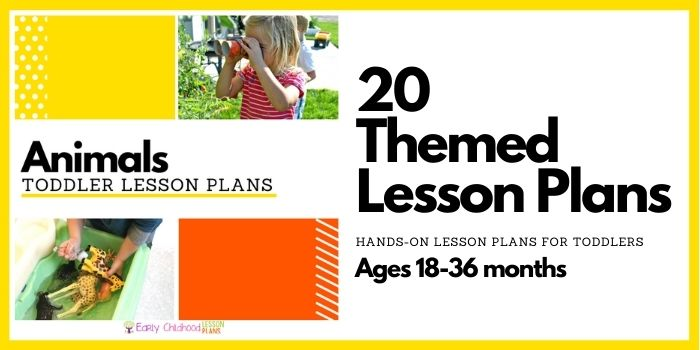 Animals Toddler Lesson Plans