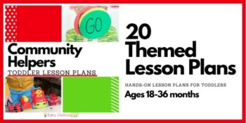 Community Helpers Toddler Lesson Plans