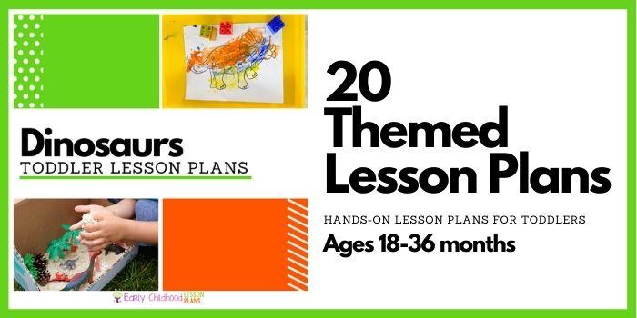Dinosaurs Toddler Lesson Plans