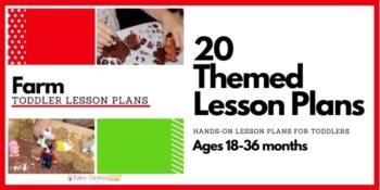 Farm Toddler Lesson Plans