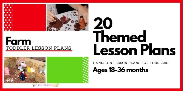 Farm Toddler Lesson Plans