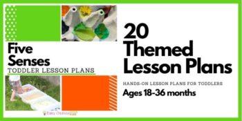 Five Senses Toddler Lesson Plans