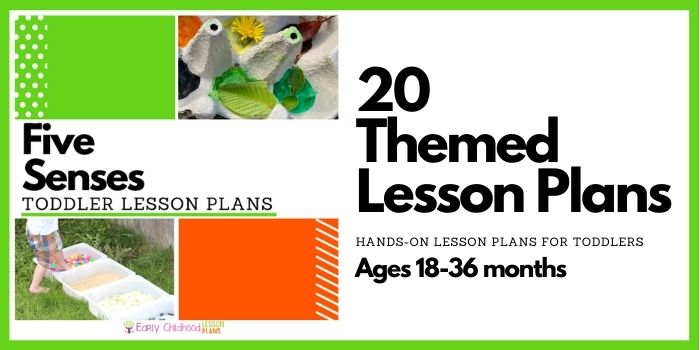 Five Senses Toddler Lesson Plans