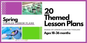 Spring Toddler Lesson Plans