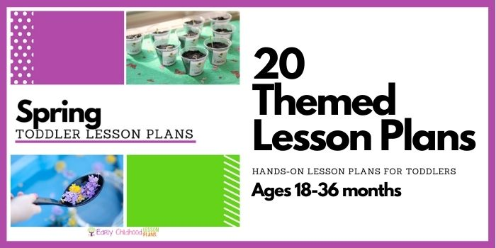 Spring Toddler Lesson Plans