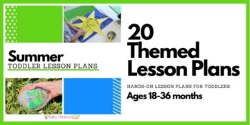 Summer Toddler Lesson Plans