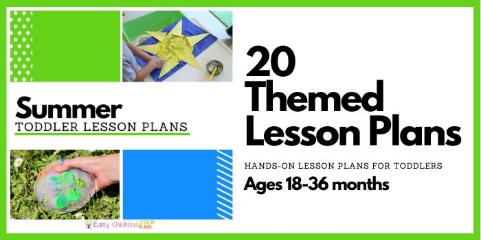 Summer Toddler Lesson Plans