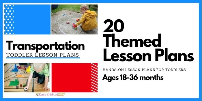 Transportation Toddler Lesson Plans