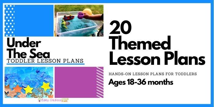 Ocean Toddler Lesson Plans