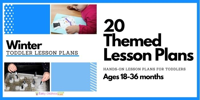 Winter Toddler Lesson Plans
