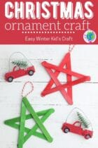 Easy Kid's Christmas Ornament Craft