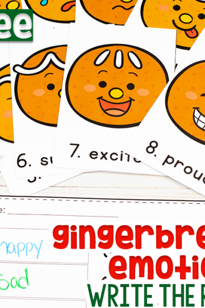 Write the Room Gingerbread Emotions Activity Featured Image