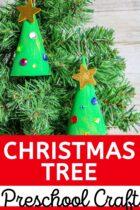 Kid's Christmas Tree craft.