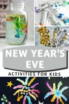 New Year's Eve activities for kids.
