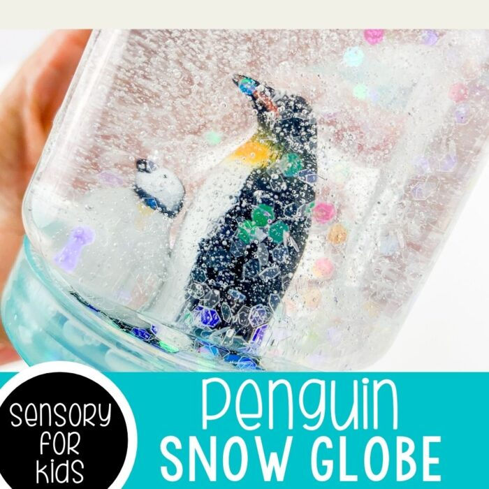 Easy Sensory Bottle Penguin Activities For Preschoolers