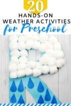 20 Hands-On Weather Activities for Preschool