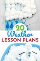 20 Weather Lesson Plans