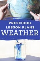 Weather Preschool Lesson Plans