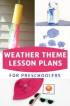 Weather Theme Lesson Plans for Preschoolers
