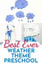 Best Ever Weather Theme Preschool Lessons