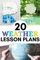 20 Weather Lesson Plans for Preschoolers