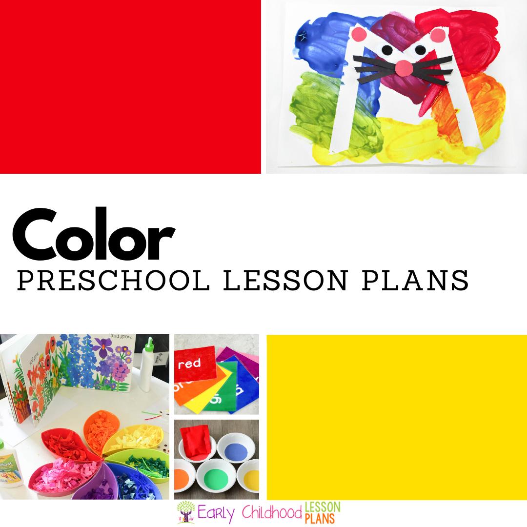20+ Color Activities for Preschool Lesson Plans