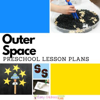 Preschool Lesson Plans Space Square Image