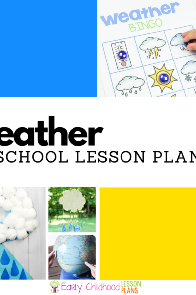 Weather Preschool Lesson Plans Square Featured Image